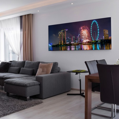 Canvas Prints - Panoramic (With Mount)